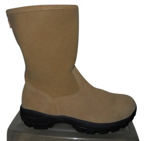 Lands' End Leather Suede Snow tan Boots