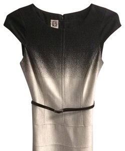 Anne Klein short dress Black And white on Tradesy