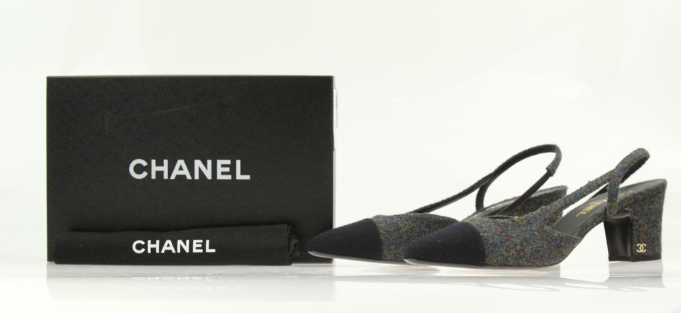 8f72e96521 Chanel Sneakers Flat Espadrilles Sneakers Grey Mules Image 11.  123456789101112
