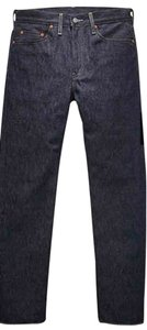Levi's 1978 501(r) Levi Dark Wash Button Straight Leg Jeans-Dark Rinse