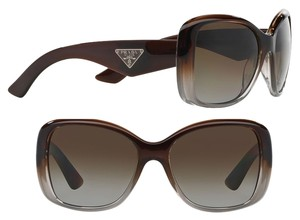 Prada Classic Prada Sunglasses Rare Brown Perfect Condition with Prada Case