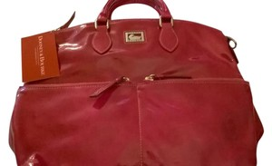 Dooney & Bourke Dillen Patent Leather Pocket Sac & Classic Hobo Bag