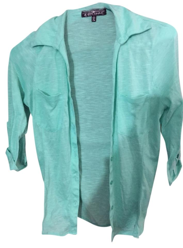 Almost famous clothing light blue button down shirt for Light blue button down shirt