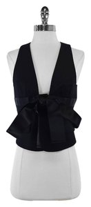 Dsquared2 Black Sleeveless Cotton Vest