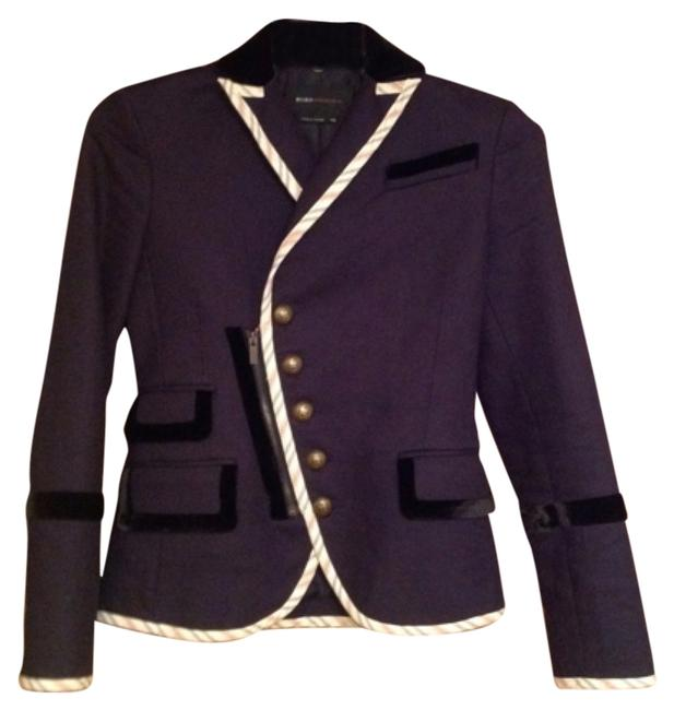 Item - Blue Reserved Military/Steampunk Inspired *reserved Jacket Size 00 (XXS)