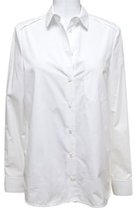 Chloé Button Down Shirt White