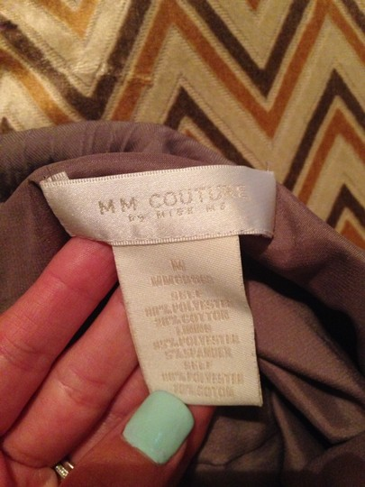 MM Couture Tan Dress