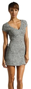 Parker Sequin Sequin Gray Sequin Gray Sequin Silver Silver Sequin Dress