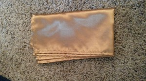 20x20 Gold Satin Napkins