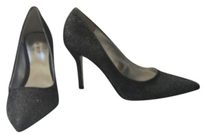 Nine West Balck/ silver glitter Formal