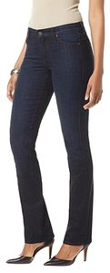 CJ by Cookie Johnson Nwt Stretch Straight Leg Jeans-Dark Rinse