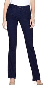 Yummie Boot Cut Premium Denim Straight Leg Jeans-Dark Rinse