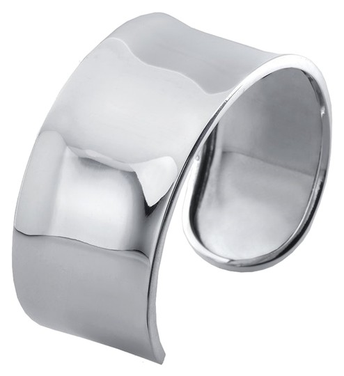 Other Wide Bold Sterling Silver Concave Cuff Bracelet by BrianG @ BrianGdesigns
