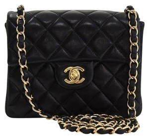Chanel Mini Lambskin Mini Lambskin Cross Body Bag