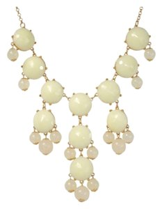 Jane Stone Ivory Bubble Necklace. Statement piece.