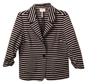 Laundry by Shelli Segal Black, White Blazer