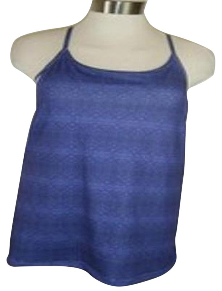 d35eaae3043b7 Fila Blues Athletic Xl By Built In Bra W Removable Pad Stay Dry Euc  Racerback Tank Top Cami