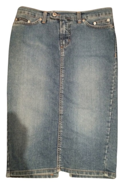 Dolce&Gabbana Pencil Skirt Denim