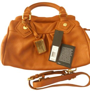 305c9d262e Marc by Marc Jacobs Leather Satchel in smoked almond