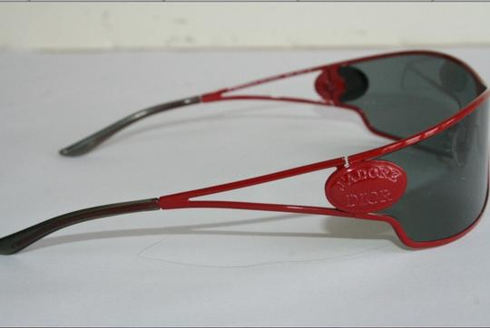 Dior authentic J'adore Dior 7M3VU Womens Sunglasses, red metal frame, in excellent conditions