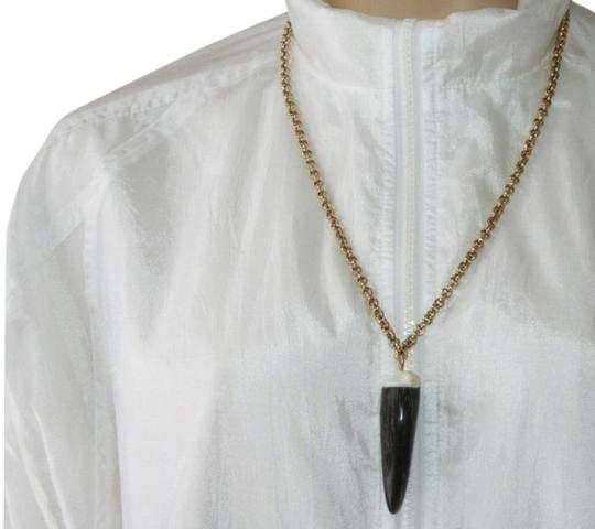 Preload https://img-static.tradesy.com/item/1122328/roberto-cavalli-gold-shark-tooth-necklace-in-excellent-condition-0-0-540-540.jpg