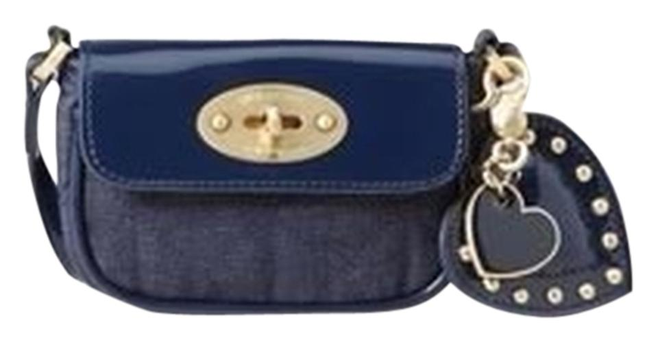 bae759a720 Mulberry for Target Mini Quilted Purse In Denim Blue   Patent ...