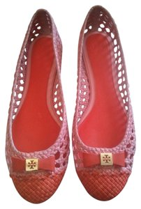 Tory Burch Mermaid blush/New fire orange Flats