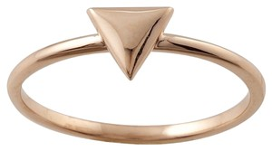 Designer 14K Rose Gold Stackable Ring with Triangle Accent by BrianG @ BrianGdesigns
