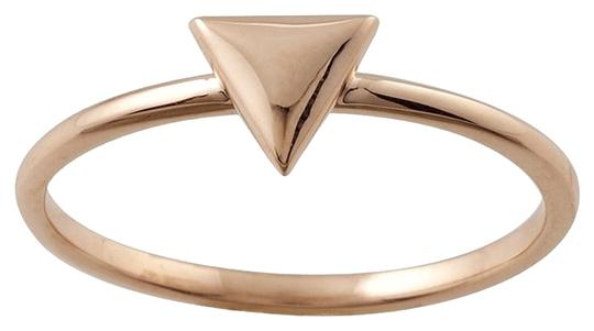 Other Designer 14K Rose Gold Stackable Ring with Triangle Accent by BrianG @ BrianGdesigns