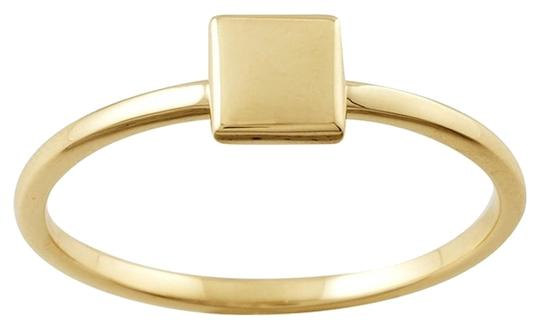 Other Designer 14K Yellow Gold Stackable Ring with Square Accent by BrianG @ BrianGdesigns