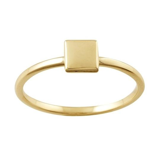 Other Designer 14k Rose, Yellow and White Gold Stackable Ring Set Circle, Square, Triangle Trio by BrianG @ BrianGdesigns