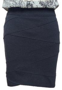 Silence + Noise Urban Outfitters Bandage Mini Skirt black