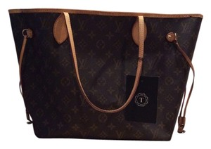 Louis Vuitton Tote in Brown/ Monogram MM