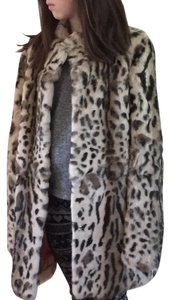 Funktional Rabbit Extremely Soft Impeccable Condition Silk Lining Fur Coat