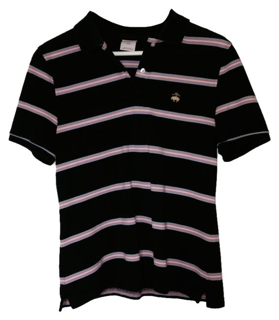 Preload https://item1.tradesy.com/images/brooks-brothers-dark-blue-pink-white-light-blue-stripe-t-shirt-1122680-0-0.jpg?width=400&height=650