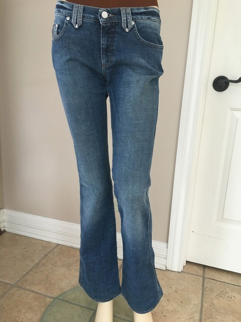 Blumarine Flare Pants denim