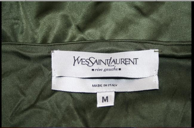 YvesSaintLauren Skirt green/white
