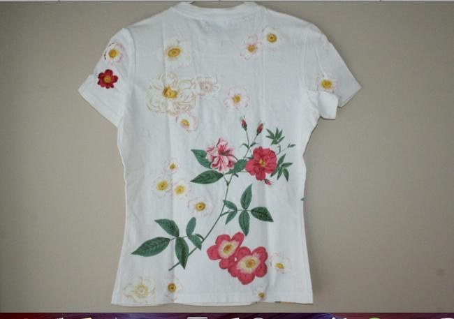 Dior T Shirt whie w/colors