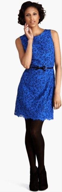 Donna Morgan short dress Cosmic Cobalt on Tradesy