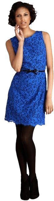 Preload https://img-static.tradesy.com/item/1122748/donna-morgan-cosmic-cobalt-blue-lace-sheath-belted-sleeveless-cocktail-party-short-casual-dress-size-0-0-650-650.jpg