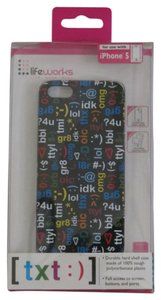 Lifeworks New In Package Lifeworks text:) Case For iPhone 5