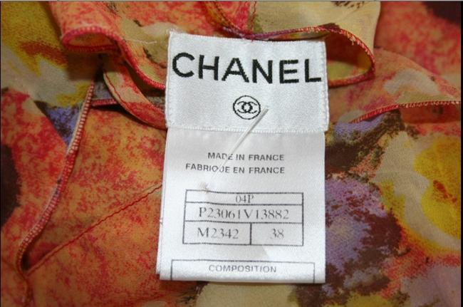 Chanel Top yellow/orange