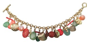 Betsey Johnson Betsey Johnson Gold Beach Charm Bracelet