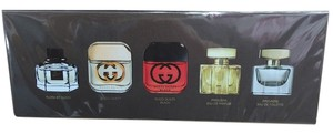 Gucci GUCCI BY Gucci Variety Women's 5-piece Mini Gift Set Brand New.