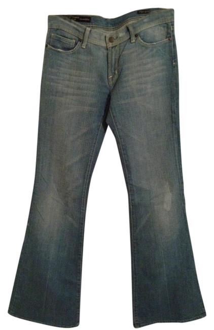 Citizens of Humanity Stretch Flare Leg Jeans-Light Wash