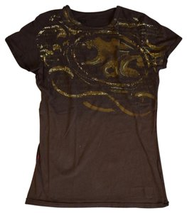 MEK DNM T Shirt Brown Tee