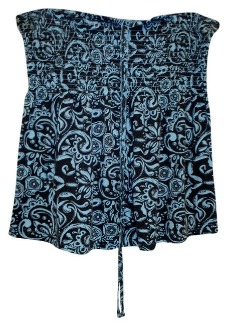 H&M Xl Summer Beach Wear Cover Up Floral Halter Top