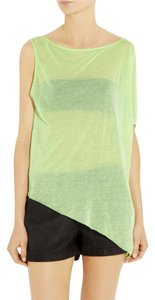 Helmut Lang Top Lizard Green