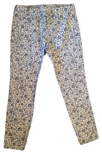 Madewell Ankle Floral Skinny Jeans