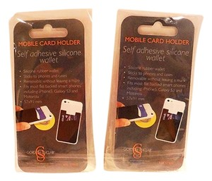 Other Set of TWO NEW Smart Wallet Credit Card Holder for Smartphones